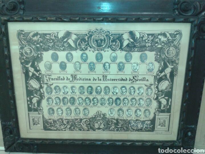 ANTIGUO MARCO MADERA TALLADA (Antigüedades - Hogar y Decoración - Marcos Antiguos)