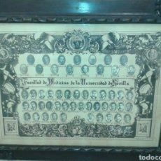 Antigüedades: ANTIGUO MARCO MADERA TALLADA. Lote 125324306