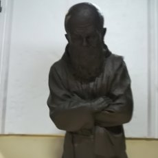 Antigüedades: FRAY LEOPOLD DE ALPANDEIRE FIRMADO M MORENO ESTUCO. Lote 125328255