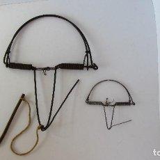 Antigüedades: GRAN CEPO DE BALLESTA. Lote 125334691