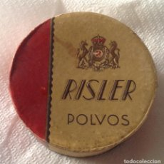 Antigüedades: ANTIGUA POLVERA CON SUS POLVOS RISLER. Lote 125346475