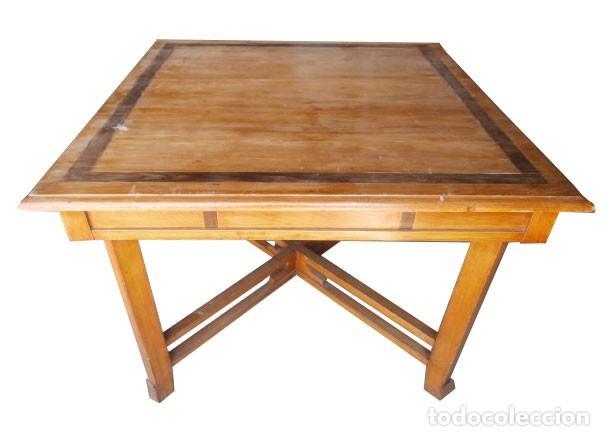 mesa comedor marqueteria años 20 - Comprar Mesas Antiguas en ...
