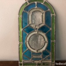 Antigüedades: CRISTAL EMPLOMADO N.D. DE LURDES . Lote 125412987