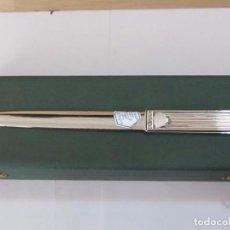Antigüedades: ABRECARTAS PEDRO DURAN DE PLATA DE LEY, EN SU ESTUCHE. Lote 125424407