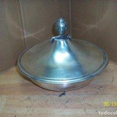 Antigüedades: ANTIGUA SOPERA DE ALPACA. Lote 125446783