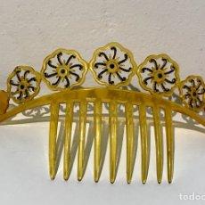Antigüedades: PEINETA PEINA MANTILLAS SI MIL CAREY, AÑOS 30 SIGLO XX. Lote 125701719