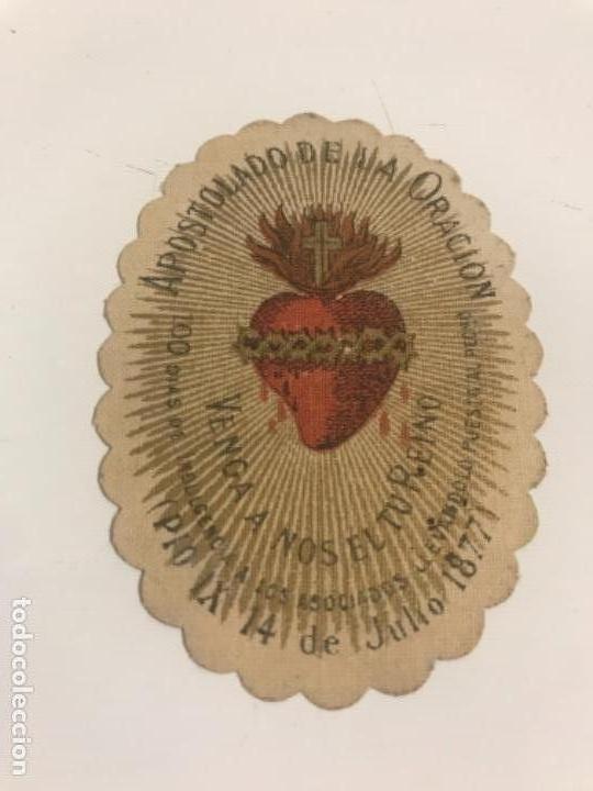 Antigüedades: Escapulario, 1877 - Foto 2 - 125703391