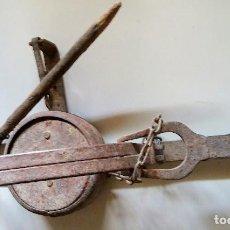 Antigüedades: ANTIGUO CEPO UTILIZADO PARA CAZAR CONEJOS. Lote 125789159