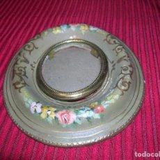Antigüedades: ANTIGUO CUADRITO PINTADO A MANO.. Lote 125824543
