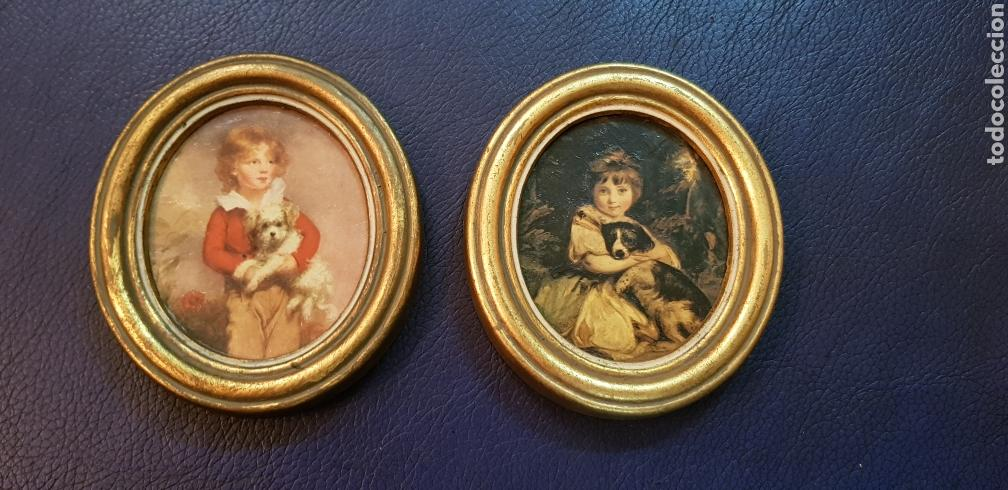 preciosa pareja de marcos ovales 10,5 cm x 9,5 - Comprar Marcos ...