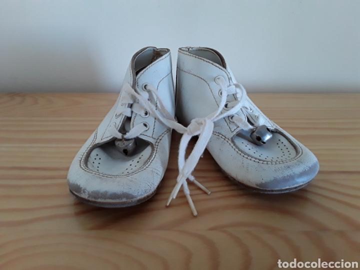 Antigüedades: Antiguos zapatos de bebé. Made in U. S. A. - Foto 8 - 125850975