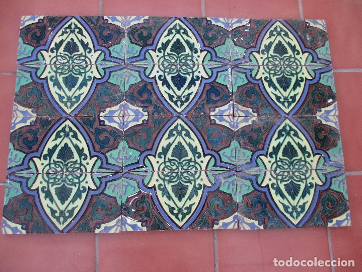 AZULEJOS RAMOS REJANO (Antigüedades - Porcelanas y Cerámicas - Azulejos)