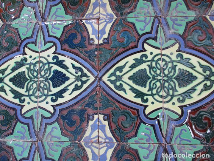 Antigüedades: Azulejos Ramos rejano - Foto 2 - 125863267