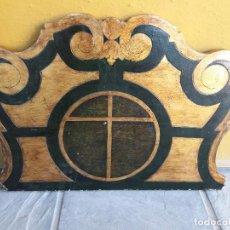 Antigüedades: REMATE DE MADERA. Lote 125907335