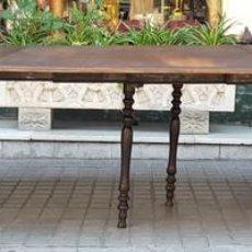 Antigüedades: MESA EXTENSIBLE DE COMEDOR. MADERA DE CAOBA. ESTILO ISABELINO. ESPAÑA. CIRCA 1850.. Lote 125929235