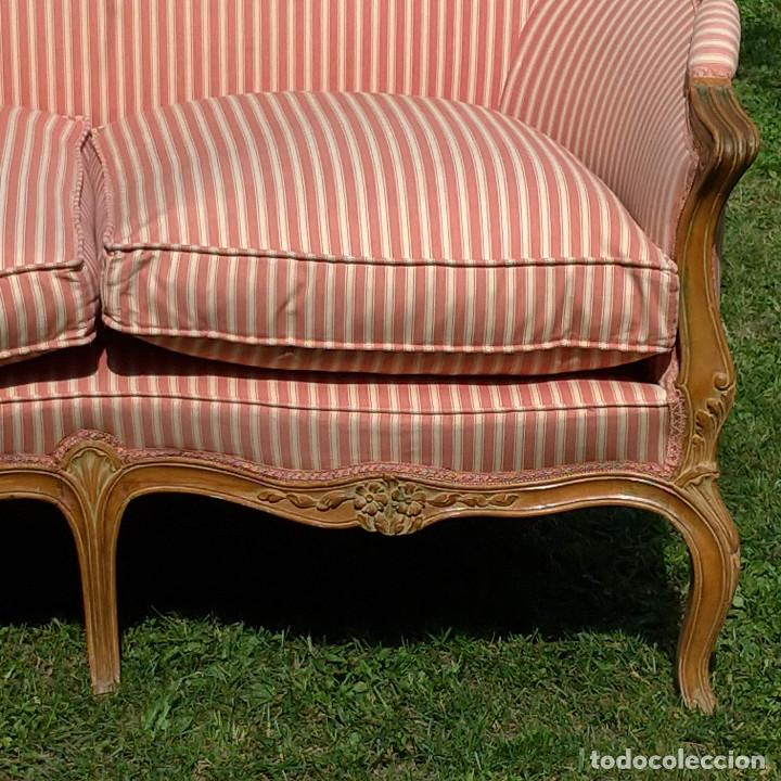 Antigüedades: Sofá estilo Luis XV - Foto 5 - 126003139