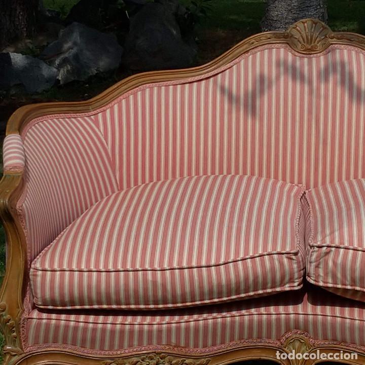 Antigüedades: Sofá estilo Luis XV - Foto 6 - 126003139