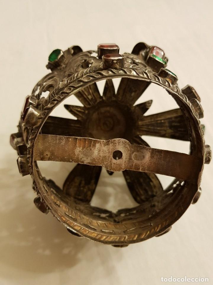 Antigüedades: Coronas para Virgen y Niño. Plata. Finales siglo XVIII. Punzones Quintana y Haro (La Rioja) - Foto 32 - 111544335