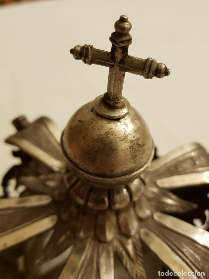 Antigüedades: Coronas para Virgen y Niño. Plata. Finales siglo XVIII. Punzones Quintana y Haro (La Rioja) - Foto 33 - 111544335
