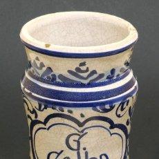 Antigüedades: S.XVIII - ALBARELO TARRO DE FARMACIA - INFLUENCIA FRANCESA - DE COLECCIÓN PARTICULAR. Lote 126088507