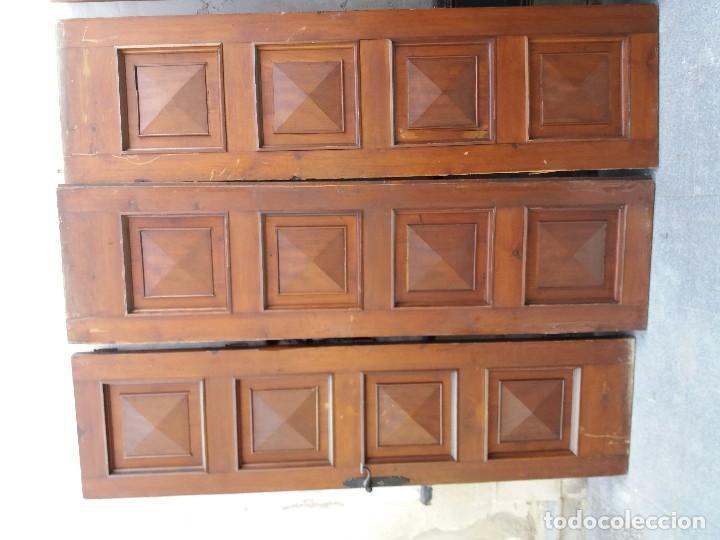 Antigüedades: puertas madera maciza - Foto 2 - 126098399