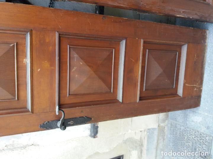 Antigüedades: puertas madera maciza - Foto 3 - 126098399