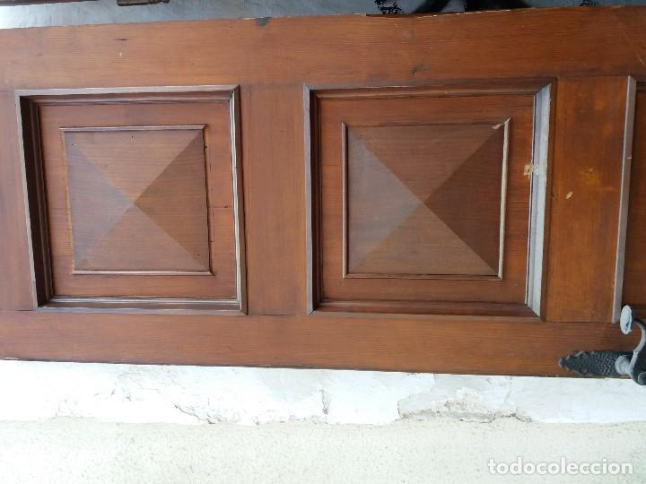 Antigüedades: puertas madera maciza - Foto 4 - 126098399