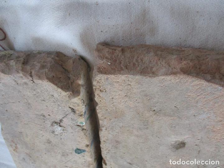 Antigüedades: pareja nº33 siglo XVI azulejos de tabla - Foto 2 - 126103191