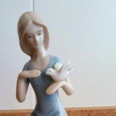 Antigüedades: FIGURA PORCELANA DE MARCA. Lote 126111983