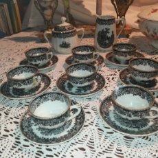 Antigüedades: JUEGO DE CAFE SANTA CLARA MAN. Lote 126133659