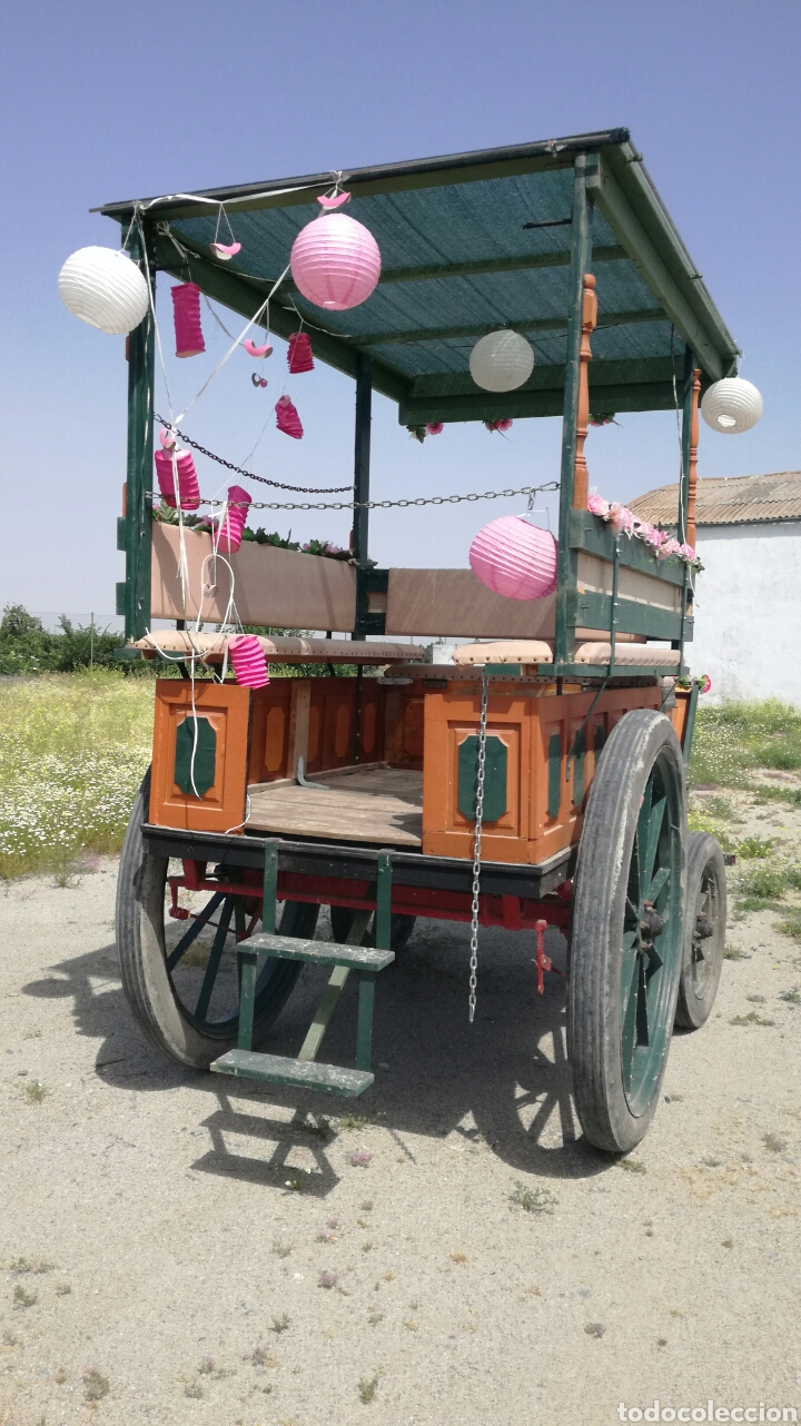 Antigüedades: Carro de caballos militar - Foto 2 - 126156838