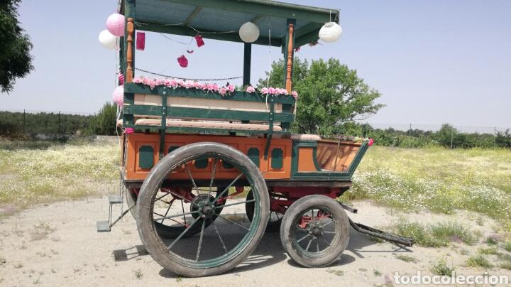 Antigüedades: Carro de caballos militar - Foto 4 - 126156838