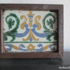 Antigüedades: AZULEJO SIGLO XVI COLECCION MONSALUD. Lote 126161103