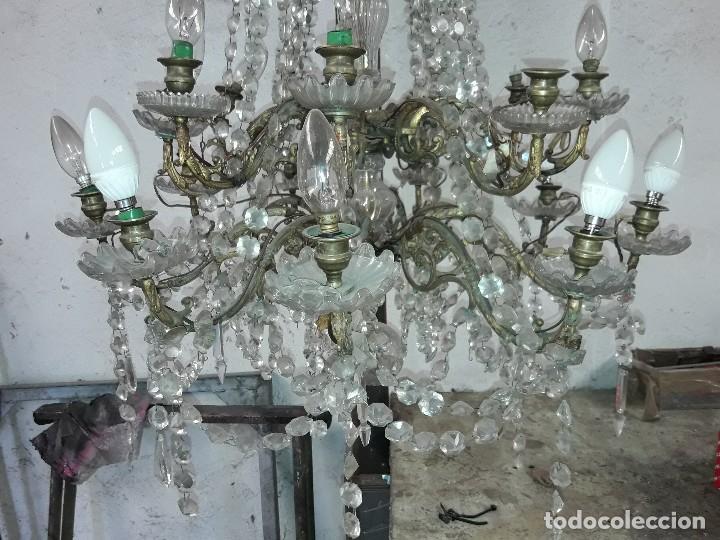 Antigüedades: Lámpara Isabelina - Foto 2 - 126166591