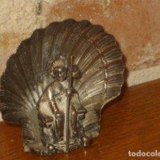 Antigüedades: CONCHA JACOBEO,TIENE PARA COLGAR TAMBIEN.. Lote 126183179