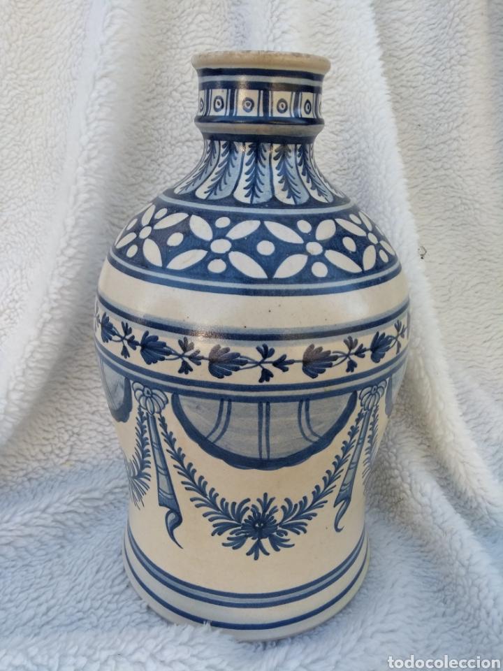 JARRÓN DE CERÁMICA DE PUENTE DEL ARZOBISPO (Antigüedades - Porcelanas y Cerámicas - Puente del Arzobispo )