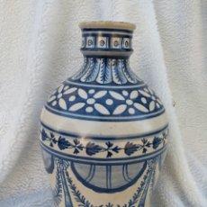 Antigüedades: JARRÓN DE CERÁMICA DE PUENTE DEL ARZOBISPO. Lote 126192203