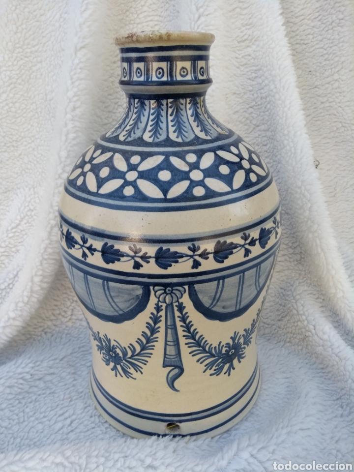 Antigüedades: Jarrón de cerámica de puente del arzobispo - Foto 3 - 126192203