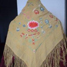 Antigüedades: MANTON NIÑA ANTIGUO O MANTONCILLO PARA FERIA. Lote 126197647