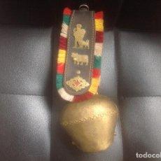 Antigüedades: SOUVENIR CENCERRO COWBELL SWITZERLAND SUIZA BENNINGER. Lote 126256671