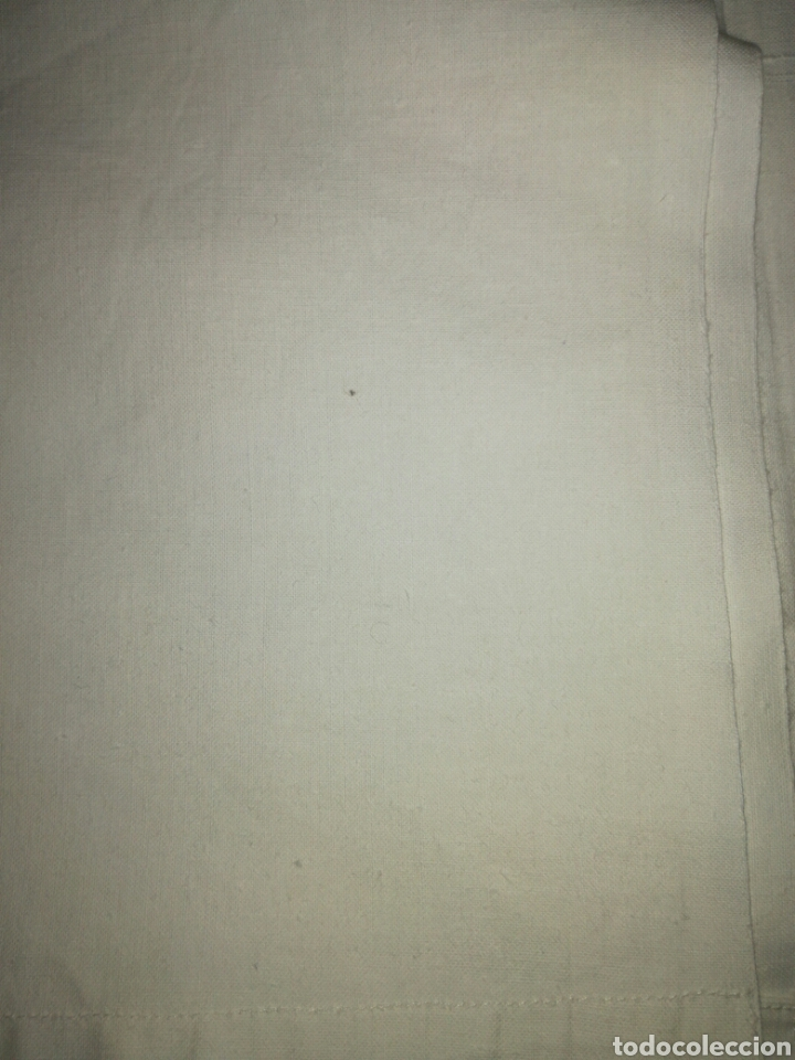 Antigüedades: Sábana bajera de algodón - Foto 3 - 126256876