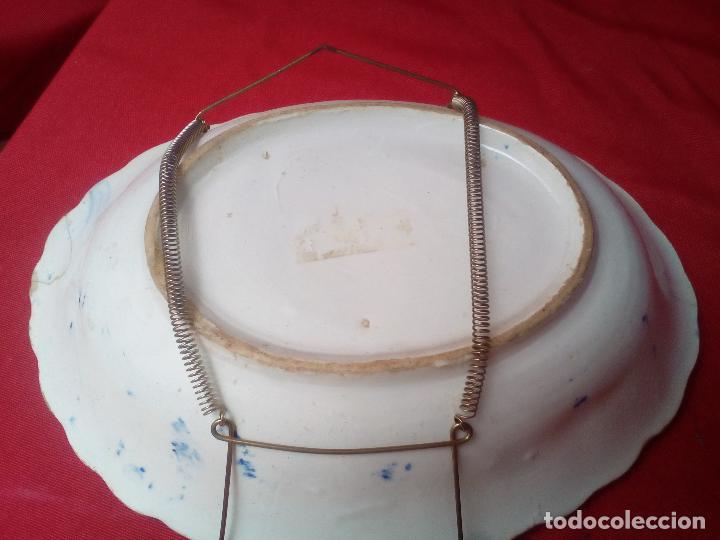Antigüedades: 2 PLATO BANDEJA FUENTE COMPAÑIA DE INDIAS ?????? - Foto 6 - 126267691
