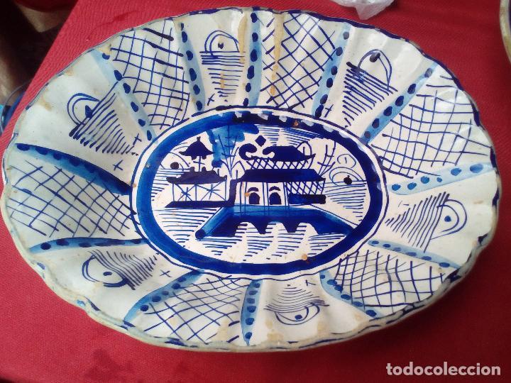 PLATO BANDEJA FUENTE COMPAÑIA DE INDIAS ???????? (Antigüedades - Porcelanas y Cerámicas - China)