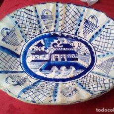 Antigüedades: PLATO BANDEJA FUENTE COMPAÑIA DE INDIAS ????????. Lote 126268227