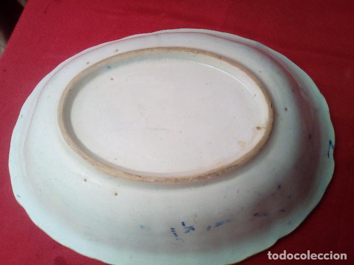 Antigüedades: PLATO BANDEJA FUENTE COMPAÑIA DE INDIAS ???????? - Foto 3 - 126268227