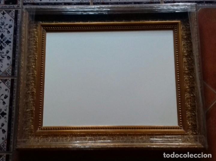 Antigüedades: MARCO DE LUJO MUY ORNAMENTADO. MEDIDA INTERNA 60x45. A ESTRENAR. INCLUYE LIENZO A MEDIDA. - Foto 6 - 104997018