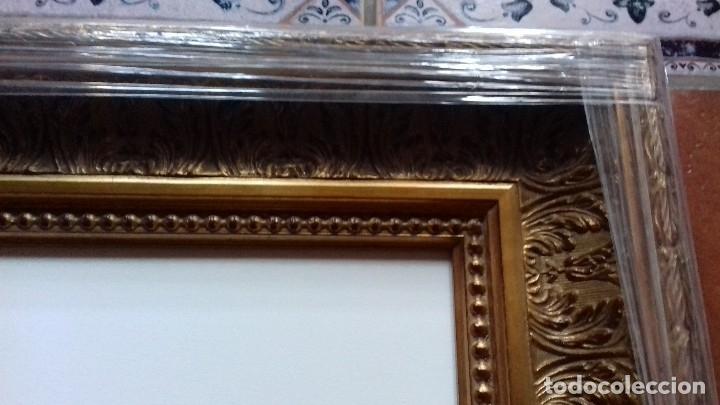Antigüedades: MARCO DE LUJO MUY ORNAMENTADO. MEDIDA INTERNA 60x45. A ESTRENAR. INCLUYE LIENZO A MEDIDA. - Foto 7 - 104997018