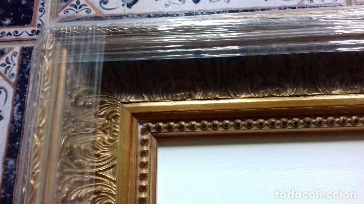 Antigüedades: MARCO DE LUJO MUY ORNAMENTADO. MEDIDA INTERNA 60x45. A ESTRENAR. INCLUYE LIENZO A MEDIDA. - Foto 8 - 104997018