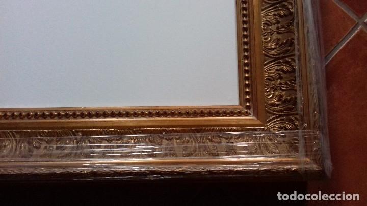 Antigüedades: MARCO DE LUJO MUY ORNAMENTADO. MEDIDA INTERNA 60x45. A ESTRENAR. INCLUYE LIENZO A MEDIDA. - Foto 10 - 104997018