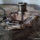 Antigüedades: * MENESES: PALMATORIA. PORTAVELAS. (RF:GM/H). Lote 126301143